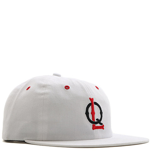 QUIET LIFE BALLPARK POLO CAP / WHITE - 1