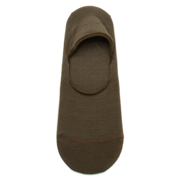 RoToTo High Gauge Foot Cover Socks / Olive - Deadstock.ca