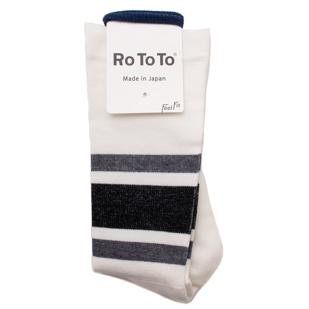RoToTo Daily Compression Socks Grey / Black - Deadstock.ca