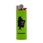 Real Bad Man RBM Bic Lighter / Lime
