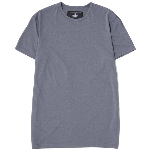 REIGNING CHAMP SS CREWNECK T-SHIRT / CHARCOAL