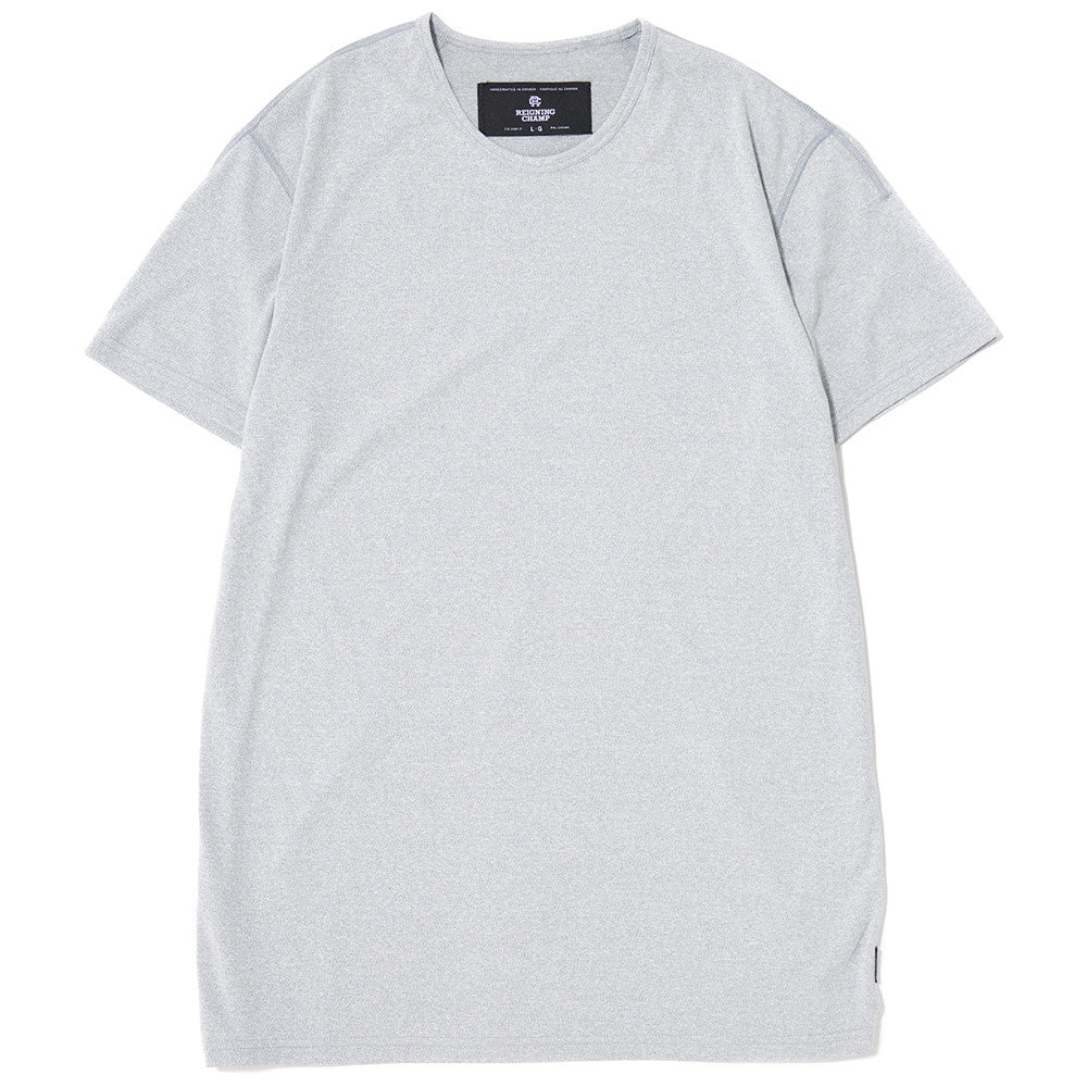 style code RC1068SS17GRY. REIGNING CHAMP SS CREWNECK T-SHIRT / GREY