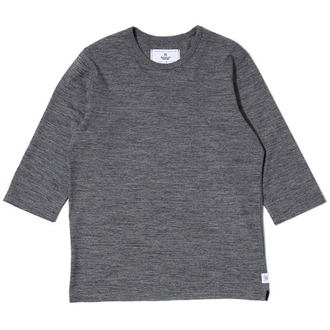 REIGNING CHAMP TIGER 3/4 SLEEVE CREWNECK / BLACK - 1