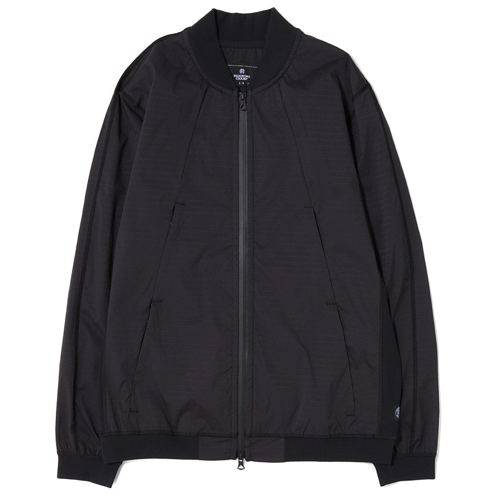 style code RC4070SS17REIGNING CHAMP RIPSTOP BOMBER JACKET HONEYCOMB STRETCH / BLACK