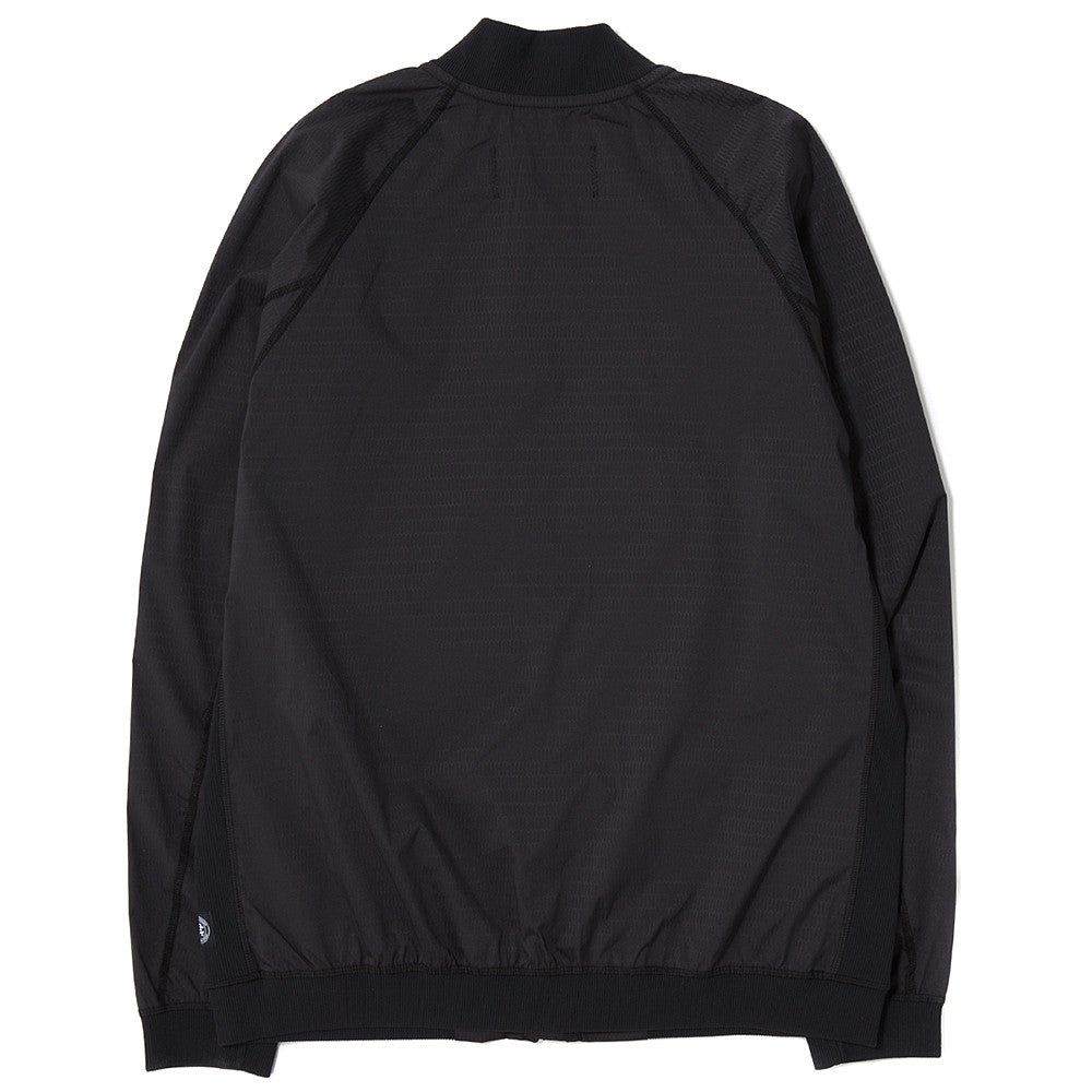 REIGNING CHAMP RIPSTOP BOMBER JACKET HONEYCOMB STRETCH / BLACK