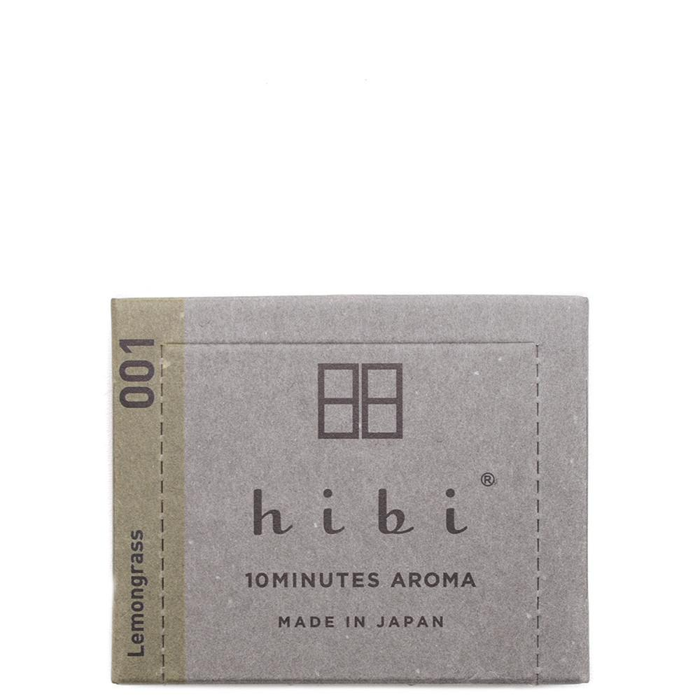 code S00130m. HIBI HERB FRAGRANCE / LEMONGRASS - 30 STICKS