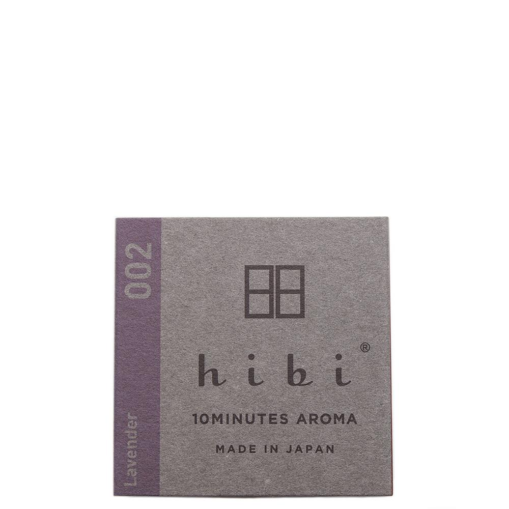 code S00208m. HIBI HERB FRAGRANCE / LAVENDER - 8 STICKS