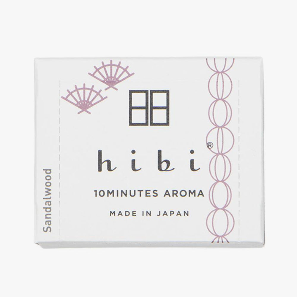 Hibi Herb Fragrance / Sandalwood - 30 Sticks