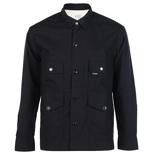 GARBSTORE FLIGHT SHIRT RIPSTOP / BLACK - 1