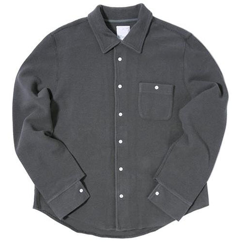 GARBSTORE CLUB SHIRT BUTTON UP / GREY - 1