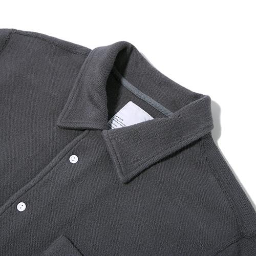 GARBSTORE CLUB SHIRT BUTTON UP / GREY - 3