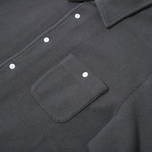 GARBSTORE CLUB SHIRT BUTTON UP / GREY - 4