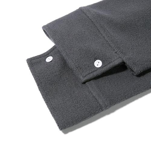 GARBSTORE CLUB SHIRT BUTTON UP / GREY - 6