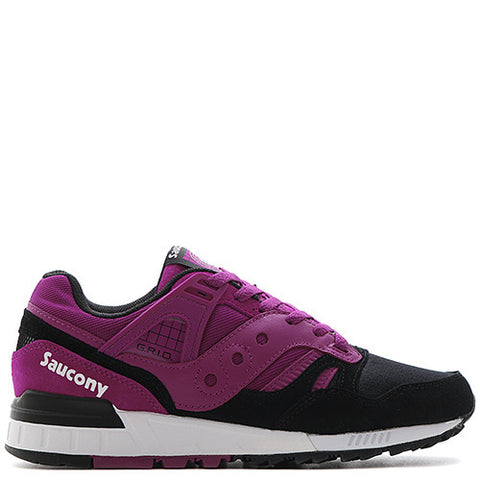 SAUCONY GRID SD BERRY / BLACK - 1