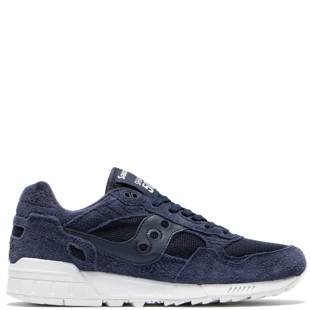 Saucony Shadow 5000 Hairy Suede / Navy - Deadstock.ca