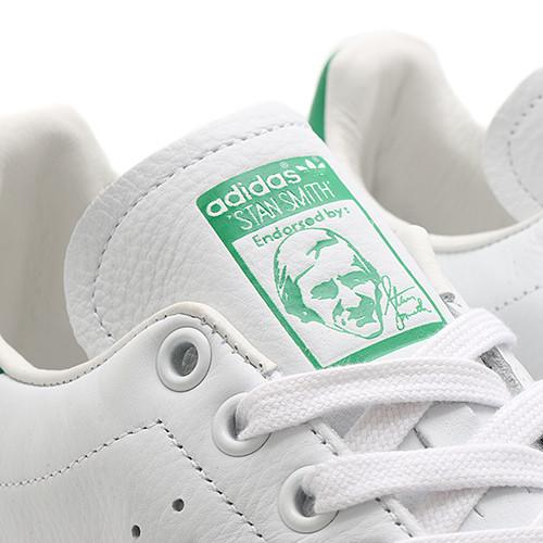ADIDAS ORIGINALS STAN SMITH / WHITE . style code S75074