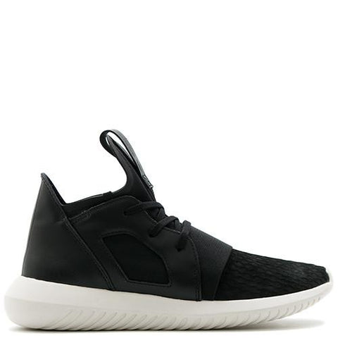 ADIDAS WOMEN'S TUBULAR DEFIANT / CORE BLACK - 1