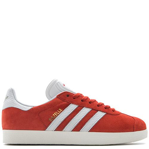 ADIDAS WOMEN'S GAZELLE VINTAGE SUEDE / CRAFT CHILI - 1