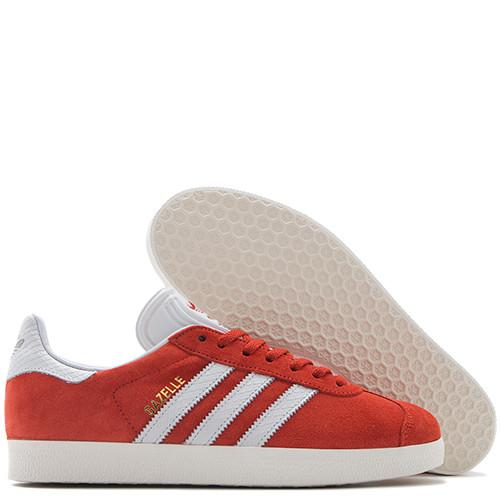 ADIDAS WOMEN'S GAZELLE VINTAGE SUEDE / CRAFT CHILI - 2
