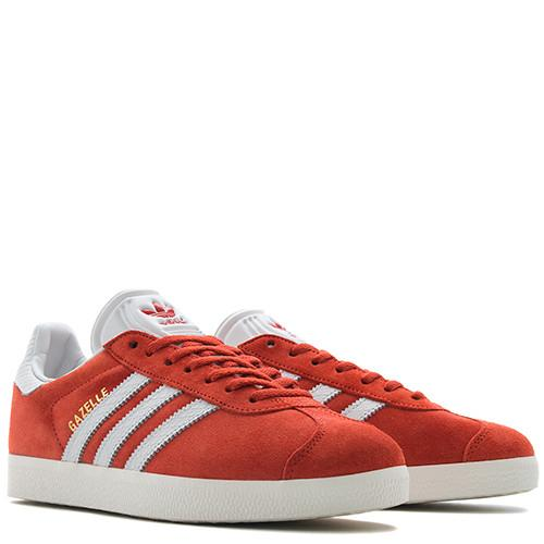 ADIDAS WOMEN'S GAZELLE VINTAGE SUEDE / CRAFT CHILI - 3