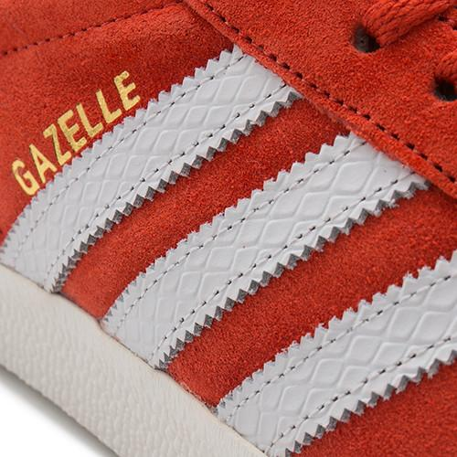ADIDAS WOMEN'S GAZELLE VINTAGE SUEDE / CRAFT CHILI - 5