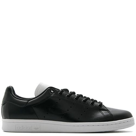ADIDAS STAN SMITH TUMBLED LEATHER / CORE BLACK - 1