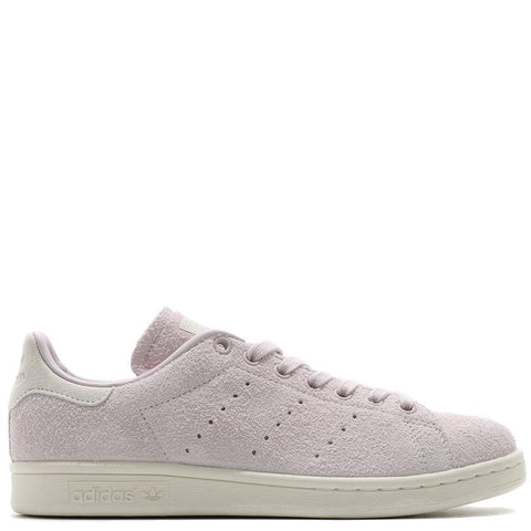 ADIDAS WOMEN'S STAN SMITH HAIRY SUEDE / ICE PURPLE - 1