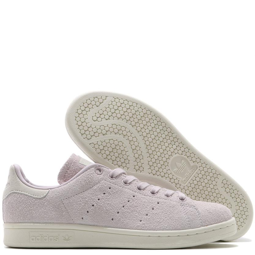 ADIDAS WOMEN'S STAN SMITH HAIRY SUEDE / ICE PURPLE . style code S82258