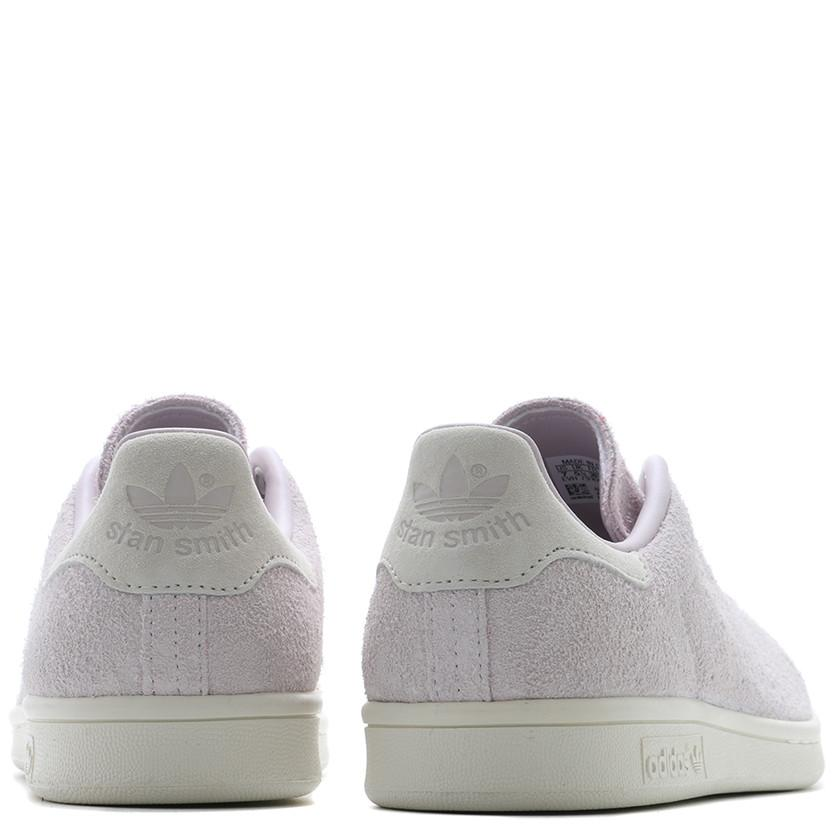 ADIDAS WOMEN'S STAN SMITH HAIRY SUEDE / ICE PURPLE - 6