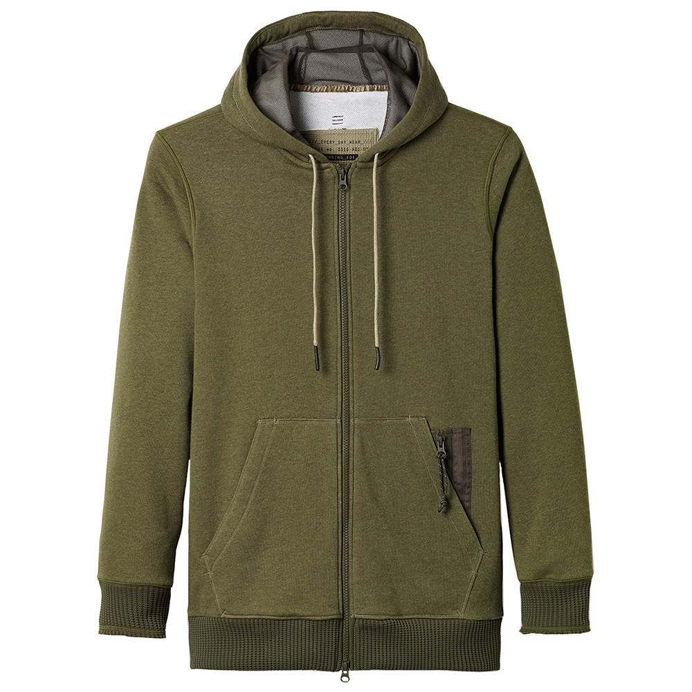 ADIDAS DAY ONE UTILITY ZIP UP / RIFLE GREEN - 1