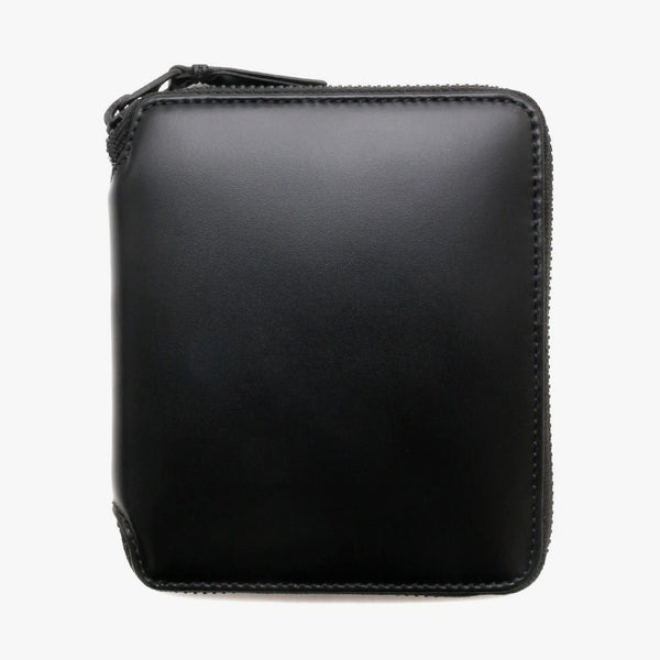 COMME Des GARÇONS Very Black Leather Line Wallet SA2100 / Black - Deadstock.ca