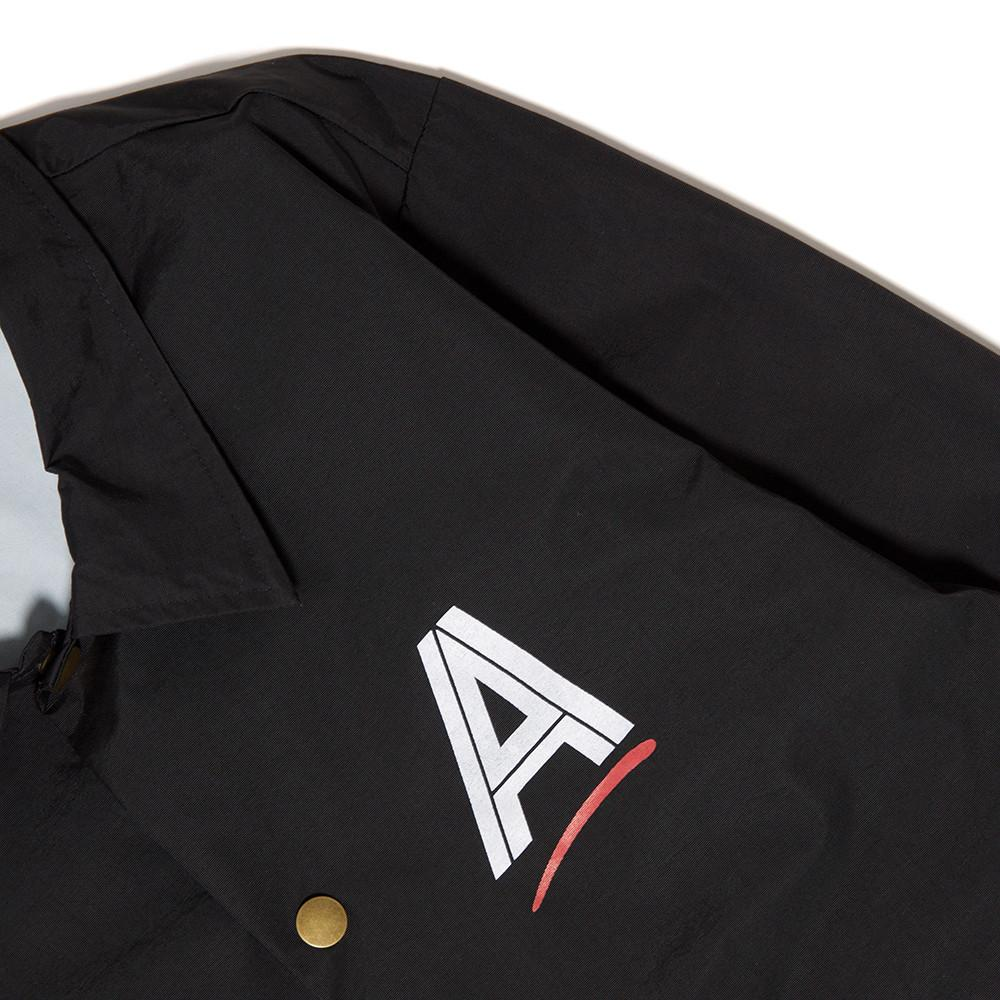 ALLTIMERS SEARS COACHES JACKET / BLACK . style code SN0037