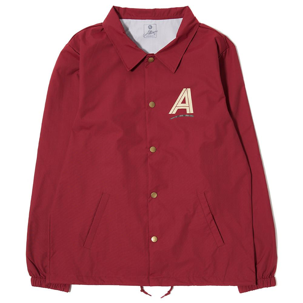 ALLTIMERS SEARS COACHES JACKET / BURGUNDY - 1