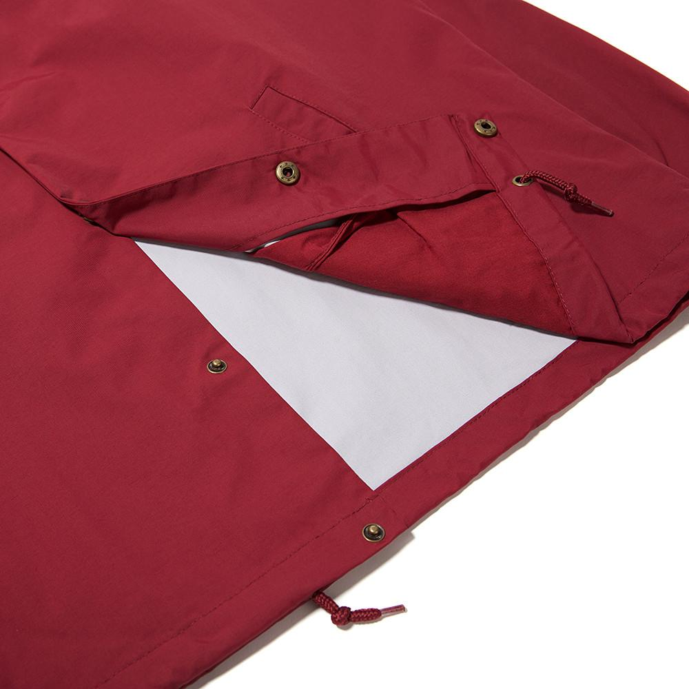 ALLTIMERS SEARS COACHES JACKET / BURGUNDY - 4