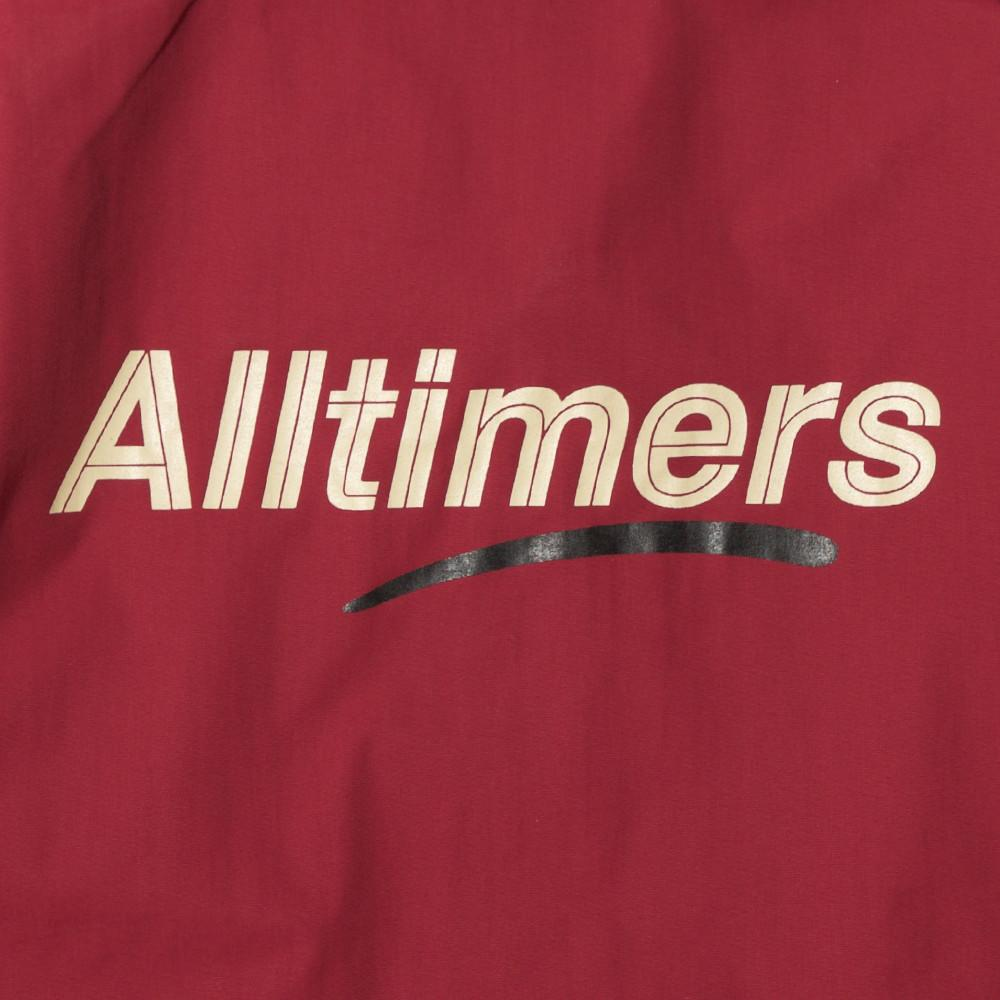 ALLTIMERS SEARS COACHES JACKET / BURGUNDY - 5