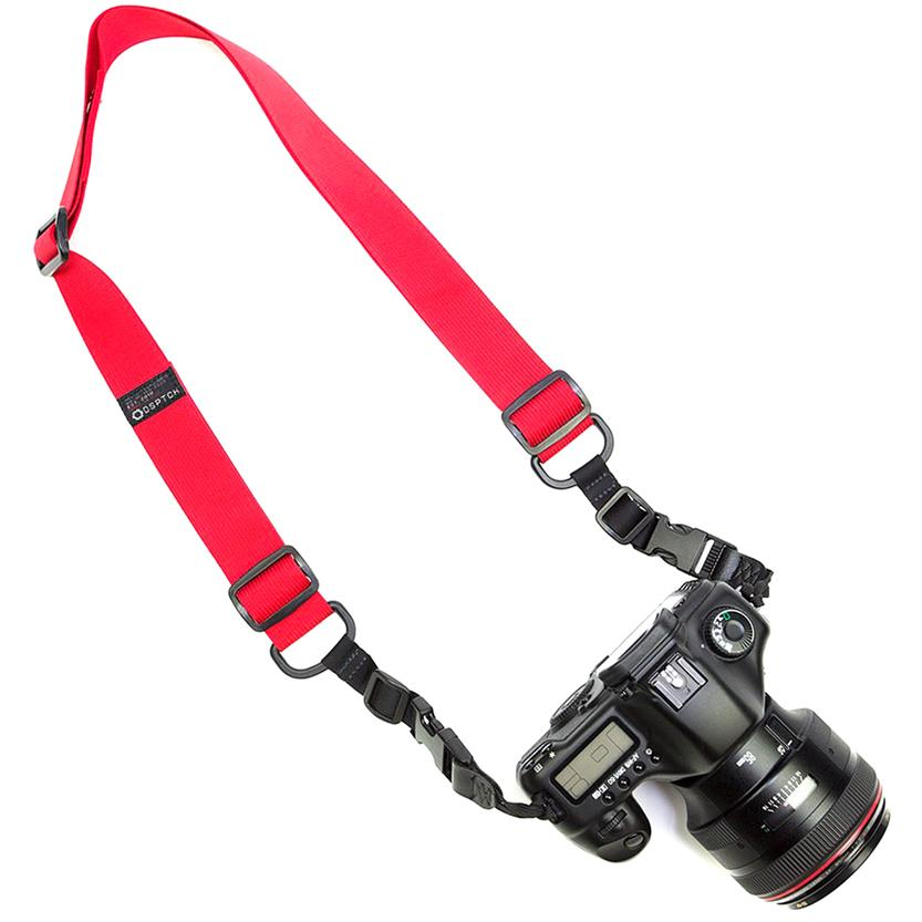 style code SRPHSBRD. DSPTCH HEAVY CAMERA SLING / RED