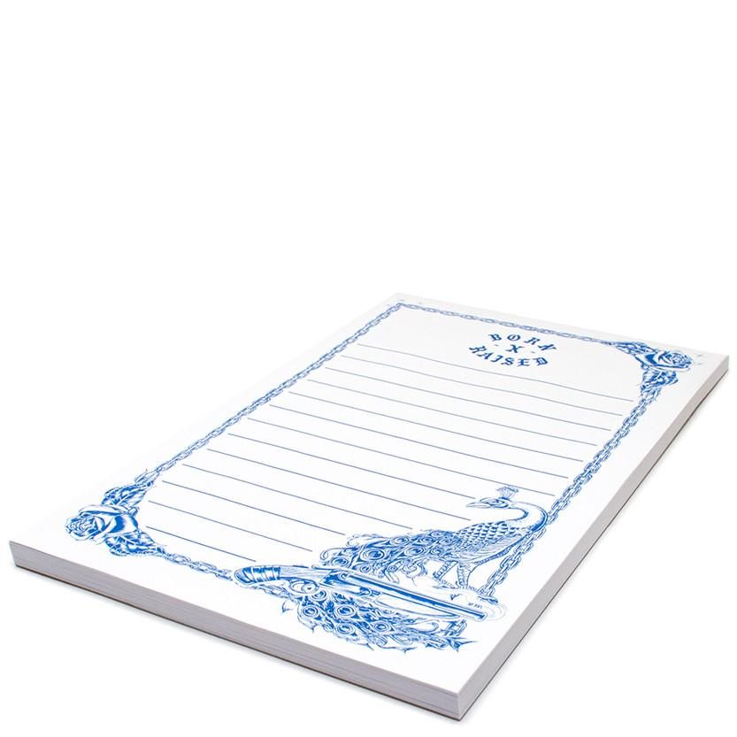BORN X RAISED FORGET ME NOTES NOTEPAD / WHITE - 2