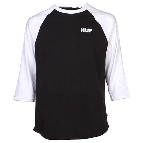 HUF SPAM RAGLAN T-SHIRT / BLACK - 1