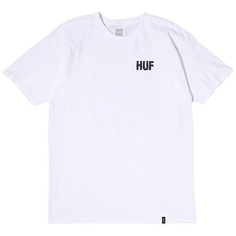 HUF SLOW BURNER T-SHIRT / WHITE - 1