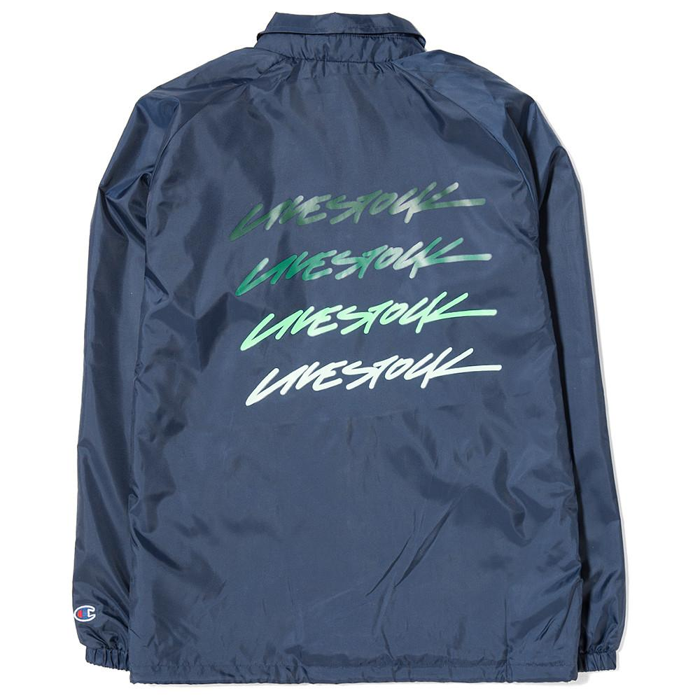 CHAMPION LIVESTOCK COACHES JACKET WEST BREAKER EDITION / INDIGO