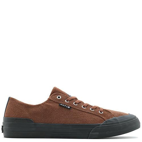 HUF CLASSIC SUEDE LO BROWN / BLACK - 1