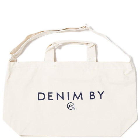 DENIM BY VANQUISH & FRAGMENT 2WAY BAG / ECRU