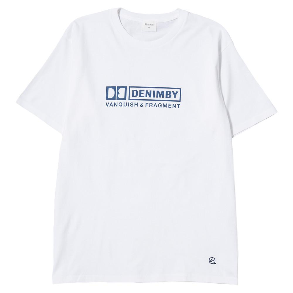 style code VFC1060WHT. DENIM BY VANQUISH & FRAGMENT CREW NECK T-SHIRT 3 / WHITE