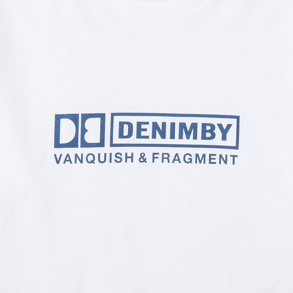 DENIM BY VANQUISH & FRAGMENT CREW NECK T-SHIRT 3 / WHITE