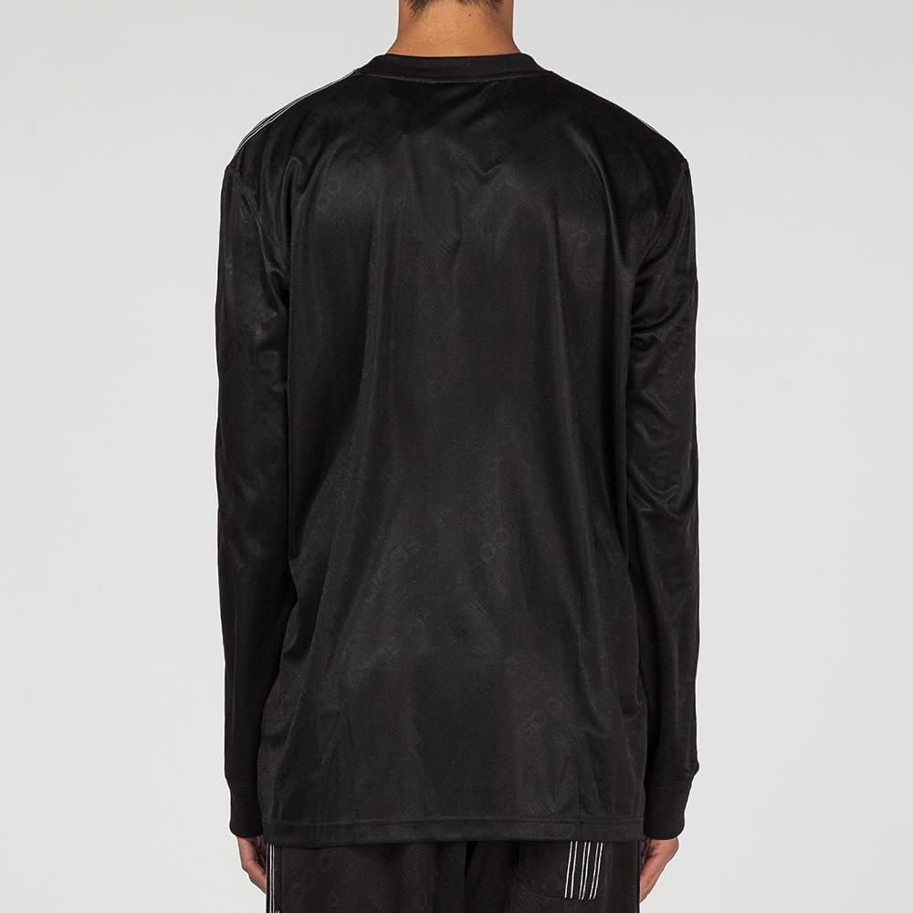 ADIDAS ORIGINALS BY ALEXANDER WANG SOCCER LONG SLEEVE / BLACK