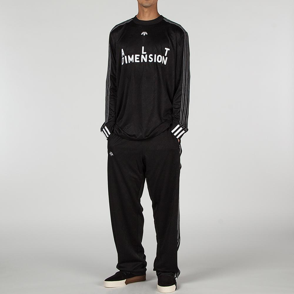 ADIDAS ORIGINALS BY ALEXANDER WANG JACQUARD TRACK PANT / BLACK