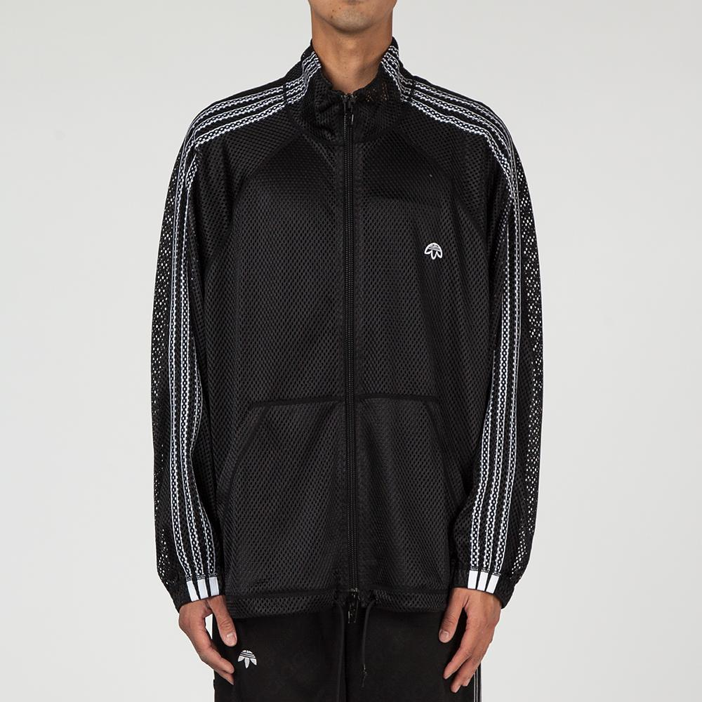 ADIDAS ORIGINALS BY ALEXANDER WANG MESH TRACK TOP / BLACK