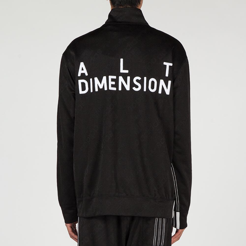 ADIDAS ORIGINALS BY ALEXANDER WANG JACQUARD TRACK TOP / BLACK