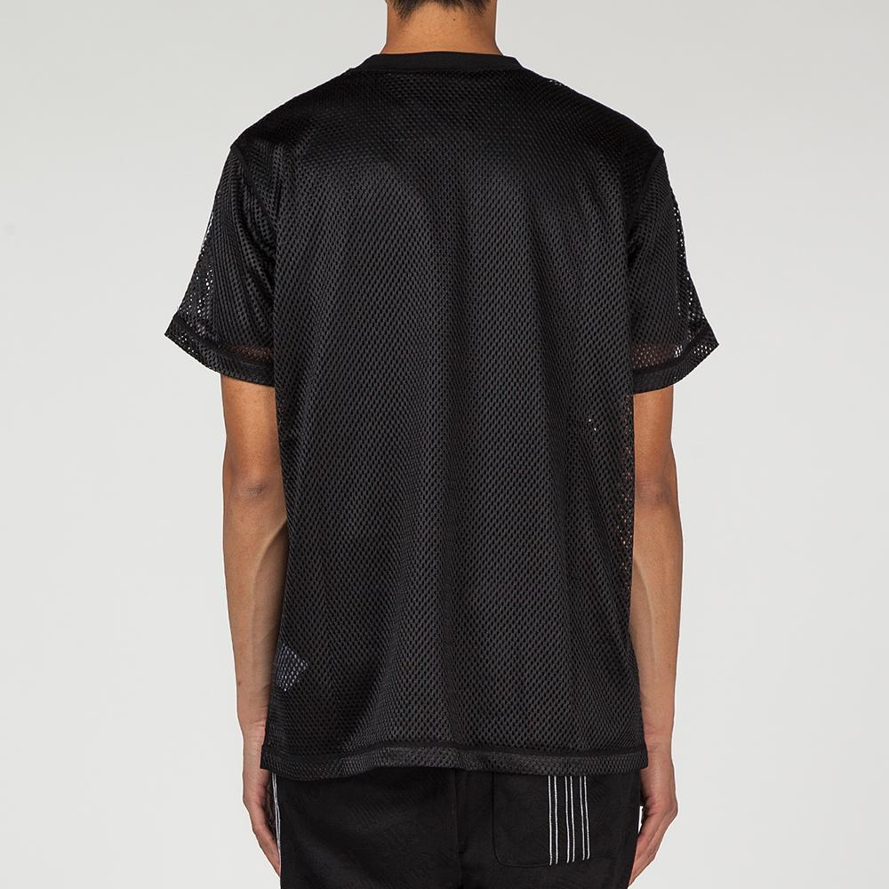 ADIDAS ORIGINALS BY ALEXANDER WANG MESH T-SHIRT / BLACK