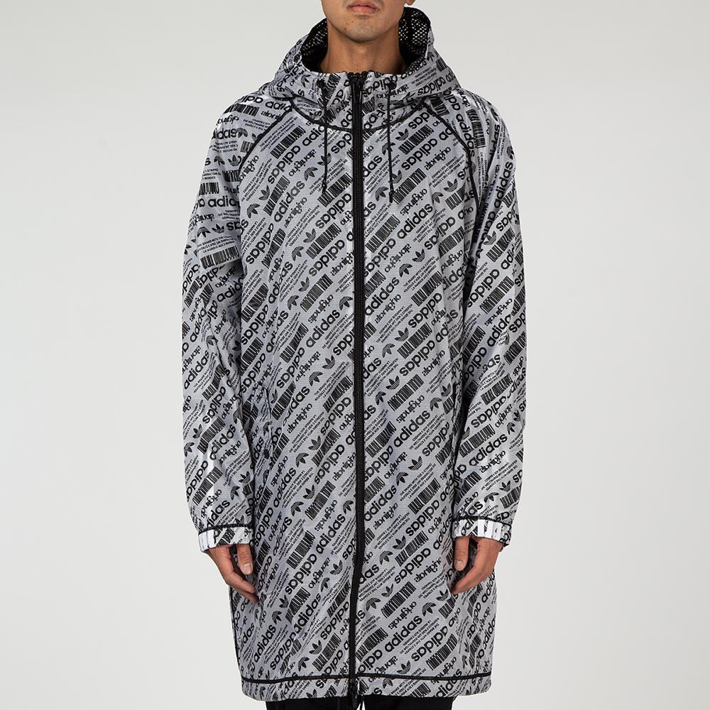 ADIDAS ORIGINALS BY ALEXANDER WANG PARKA WHITE / BLACK